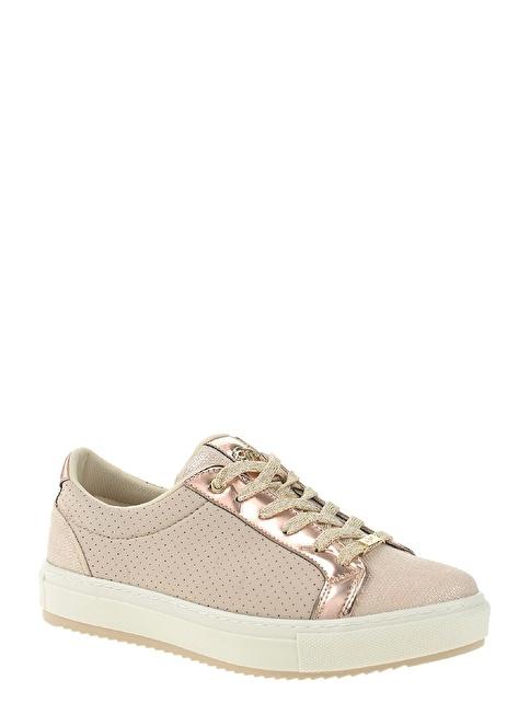 Divarese Bağcıklı Sneakers Ayakkabı Pudra